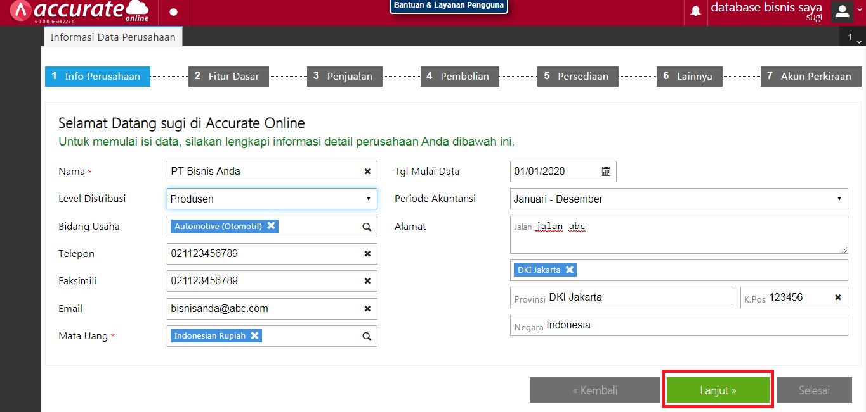 database4 penggunaan accurate online
