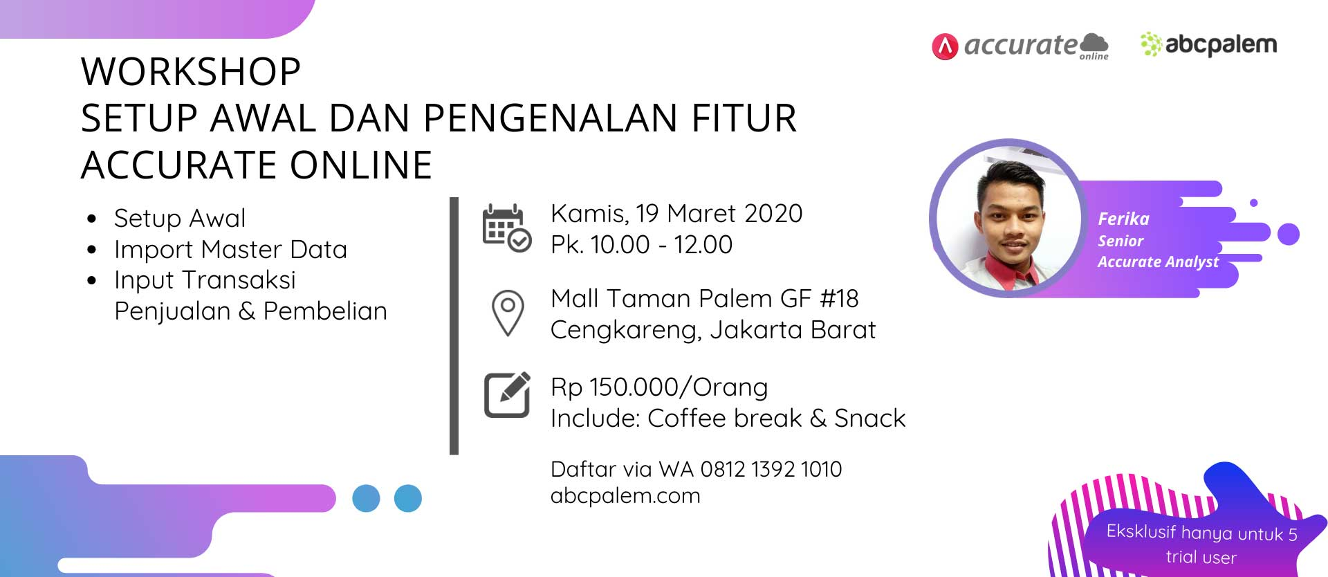 Workshop-Accurate-19-Maret-2020