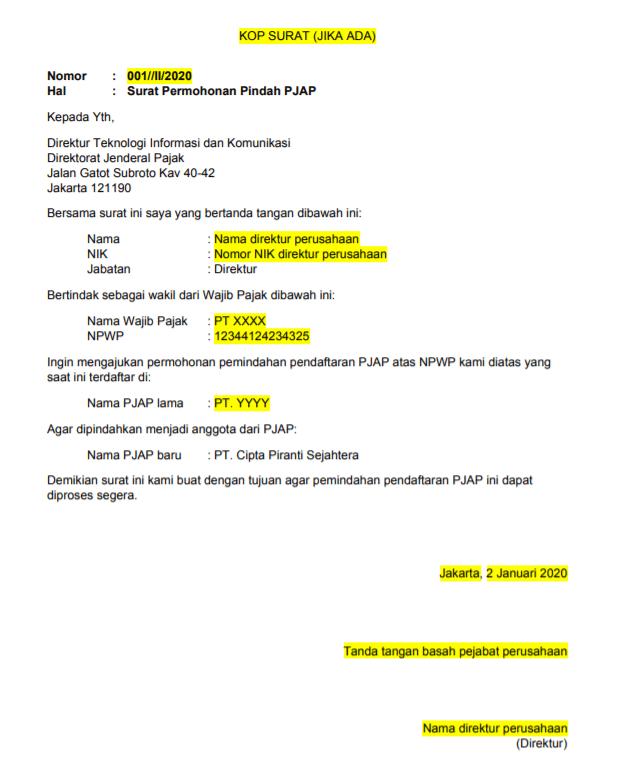 Contoh template permohonan pindah PJAP-min