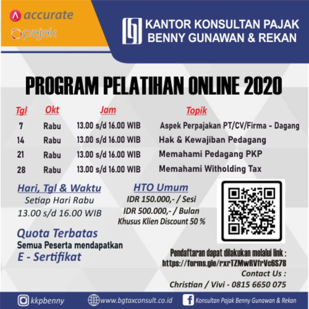 Program Pelatihan