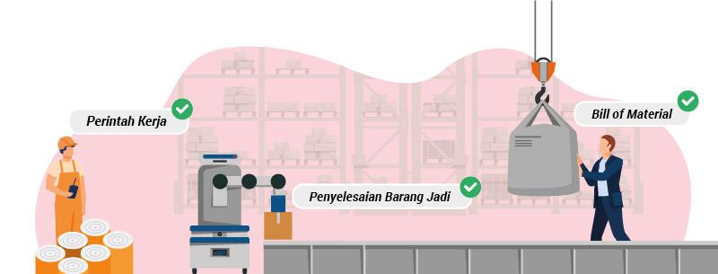 fitur manufaktur accurate online