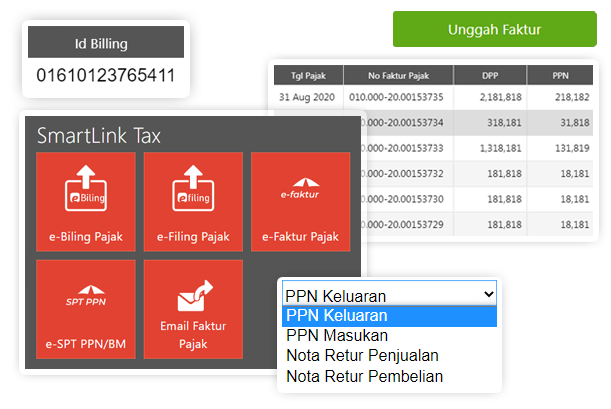 Fitur-Smartlink-Tax software akuntansi accurate online