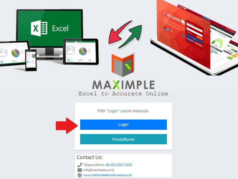 maximple dan Accurate online 3