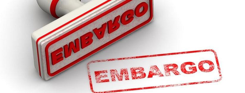 Embargo Adalah: Pengertian, Jenis Dan Contoh Kasus Embargo